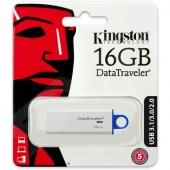 USB 3.1 Флеш-накопитель 16 ГБ Kingston DTIG4 белый - фото, изображение, картинка