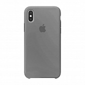Накладка Silicone Case Original iPhone X/XS (10) Светло-Серый