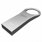 USB 2.0 Флеш-накопитель 16GB Silicon Power Firma F80 Серебристый