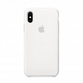 Накладка Silicone Case Original iPhone X/XS  (9) Белый