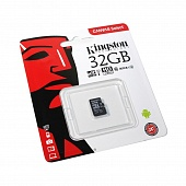 MicroSD 32GB Kingston Class 10 UHS-I U1 (80 Mb/s)