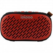 Колонка Bluetooth iPiPoo YP-6 Красный